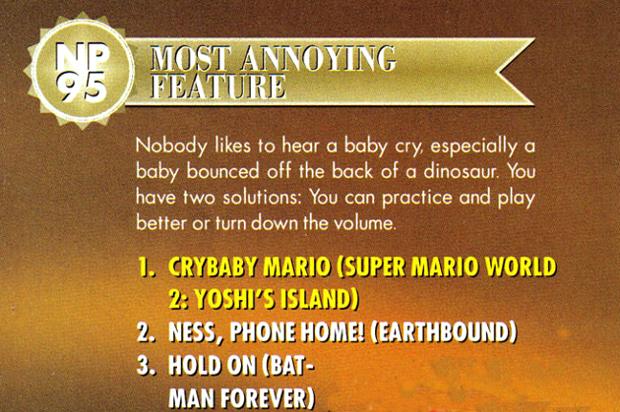 Nintendo Power Awards 1995