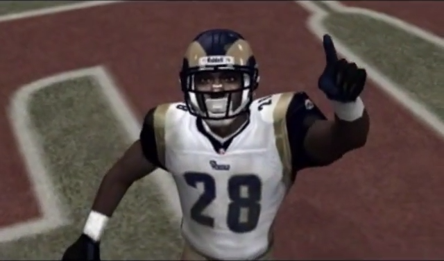 madden 2003 screen