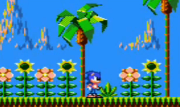 Sonic The Hedgehog For Game Gear Feels Like A Knockoff Flash Game Retrovolve