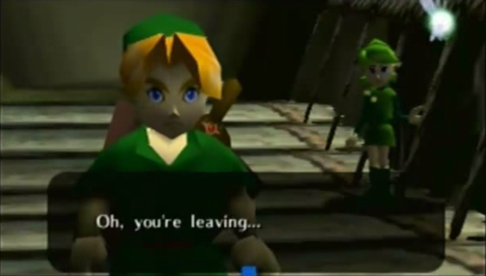 link leaving
