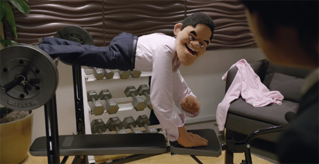 Reggie Fils-Aimé as a Muppet