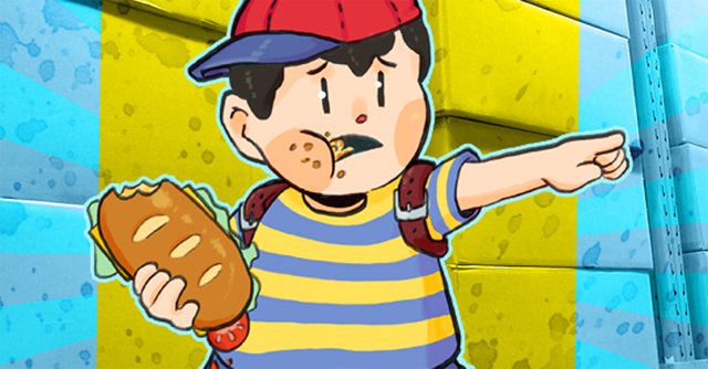Ness Amiibo Sandwich Blues