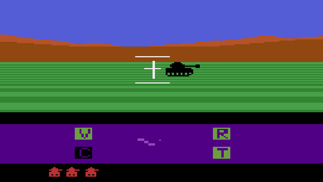 Robot Tank Atari 2600