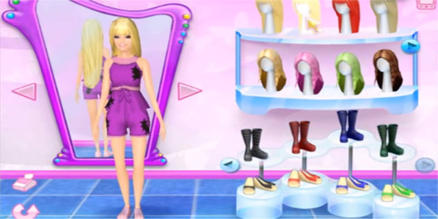 Barbie Fashion Game