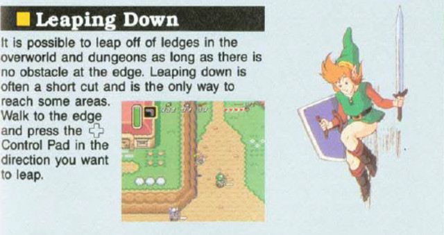 A Link to the Past Manual