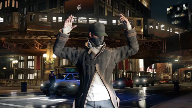 Watch Dogs Hands Up