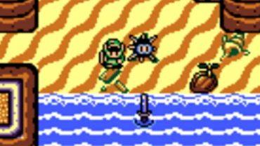 Link's Awakening Finding the Sword