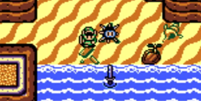 Link's Awakening Finding the Sword