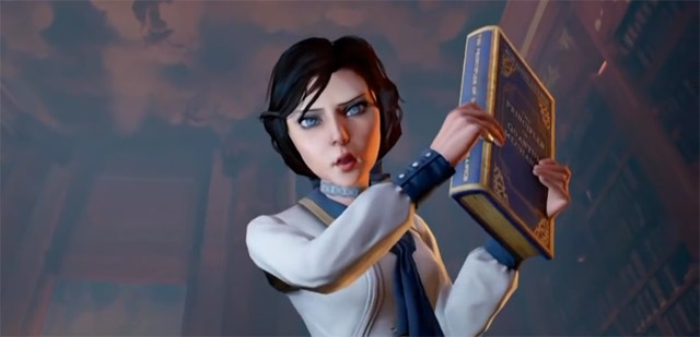 BioShock Infinite Elizabeth with Book