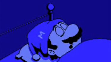 Super Mario Bros 2 Sleep