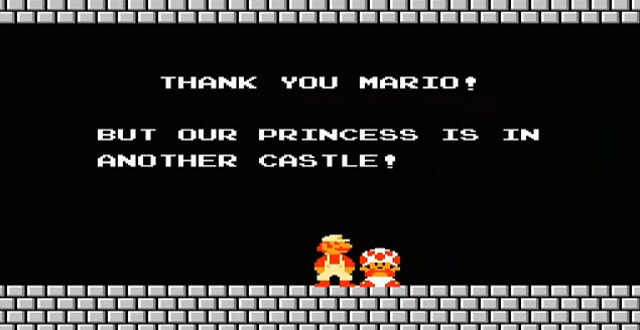 Mario Princess in Another Castle