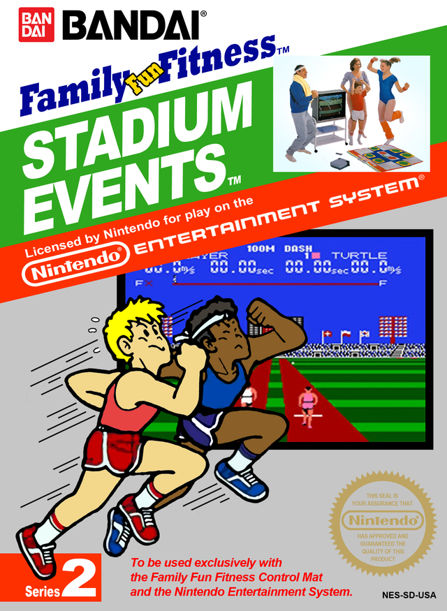 Stadium Events Box Art