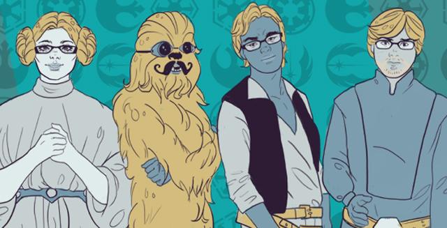 Star Wars Boy Band