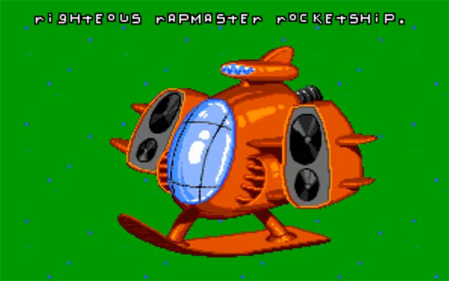Righteous Rapmaster Rocketship