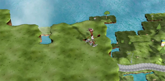 ToeJam and Earl Appearing Ground