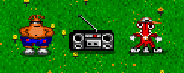 ToeJam and Earl Boombox