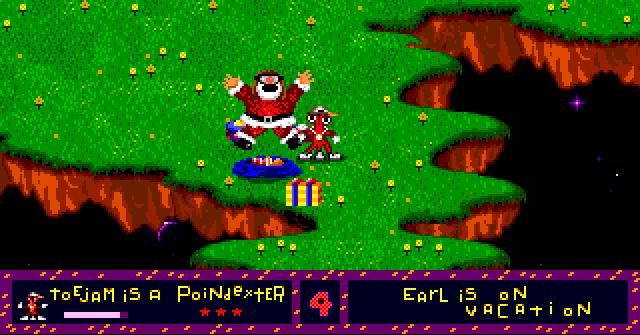 ToeJam and Earl Santa