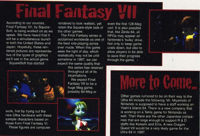 Video Game Magazine Scans