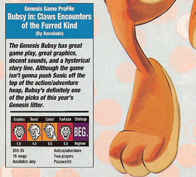 Bubsy Review