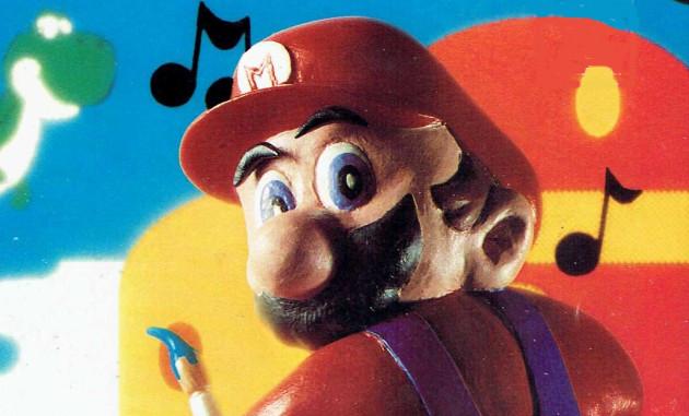 Claymation Mario