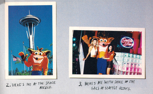 Crash Bandicoot Seattle Ad