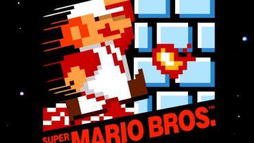 Super Mario Bros Box Art