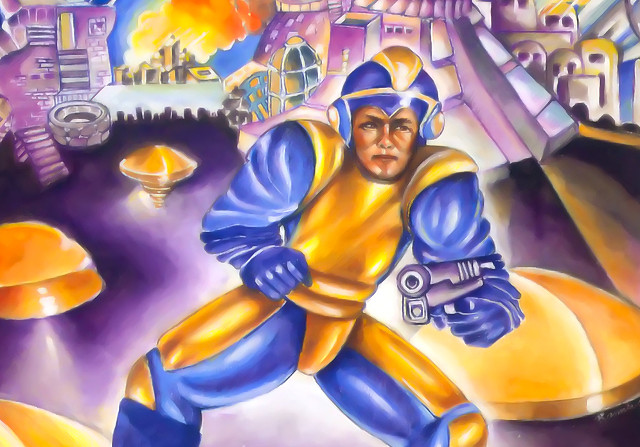 Bad Box Art Mega Man