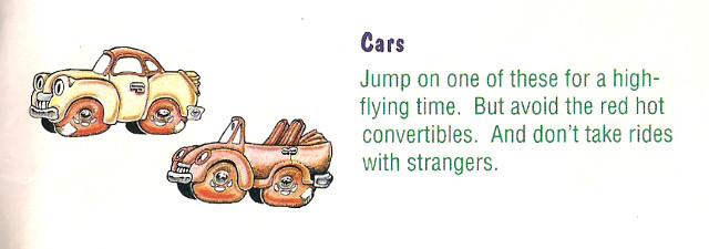 Bubsy Cars