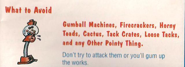 Bubsy Gumball Machine
