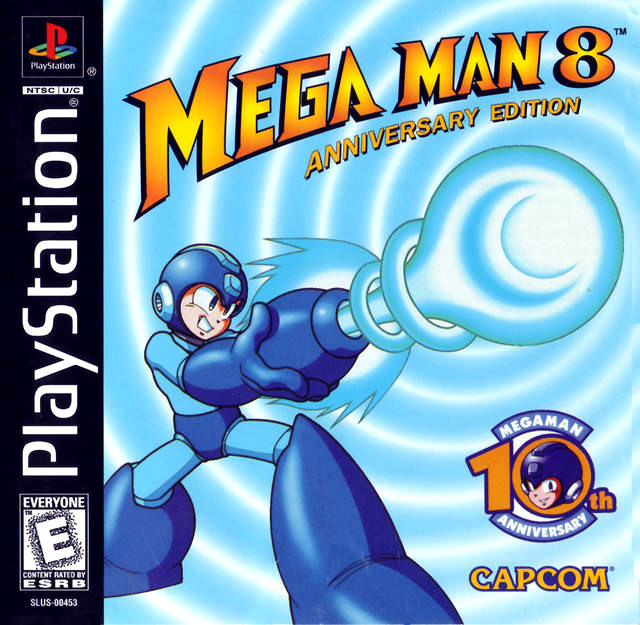 Mega Man X4 Box Art