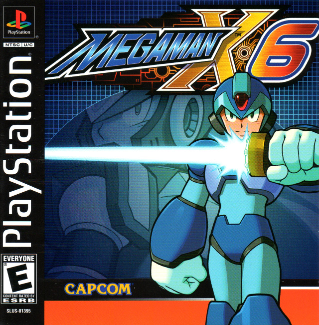 Mega Man X6 Box Art