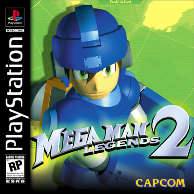 Mega Man Legends 2 Box Art