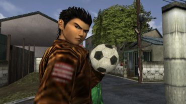 shenmue soccer ball