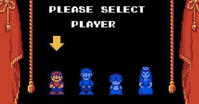 Mario 2 Character Select