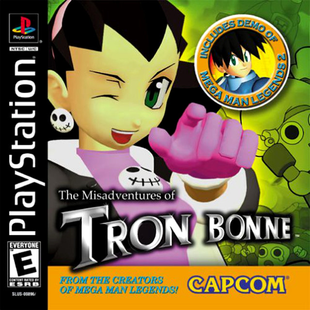 The Misadventures of Tron Bonne Box Art