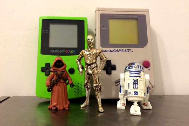 Star Wars Droids and Game Boys