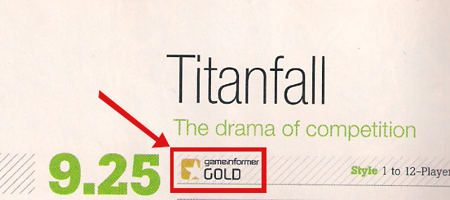 Game Informer Gold