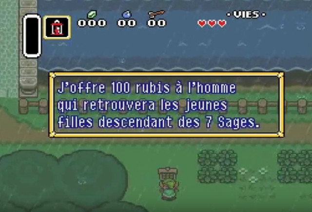 A Link to the Past - French