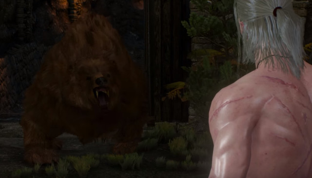 Geralt vs Bear