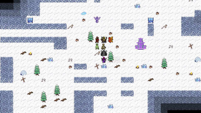 Siralim Winter Realm