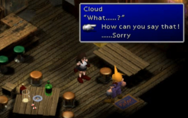 final fantasy vii dating sim