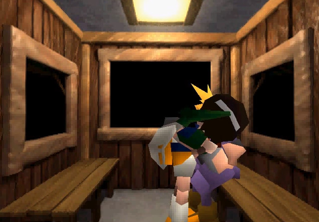 final fantasy vii yuffie kiss