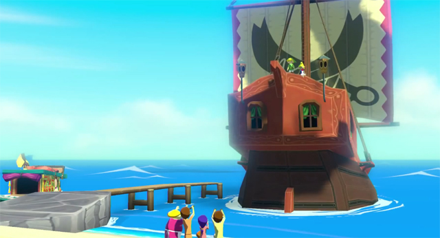Wind Waker Ship