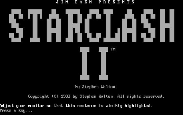 Starclash II