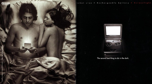 Game Boy Advance SP Ad