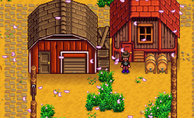 Stardew Valley Barn