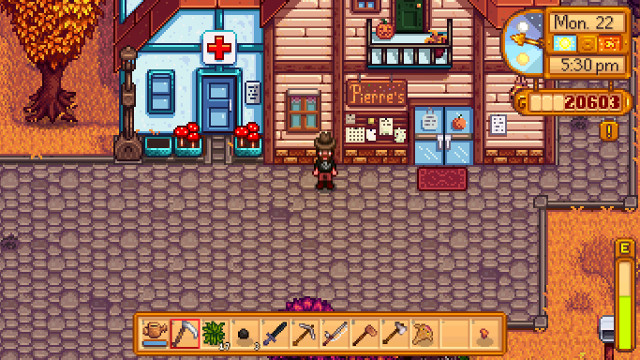 Stardew Valley Pierre's