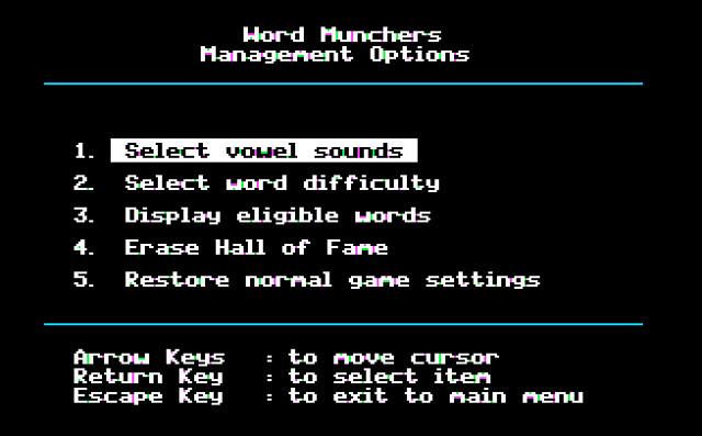 Word Munchers