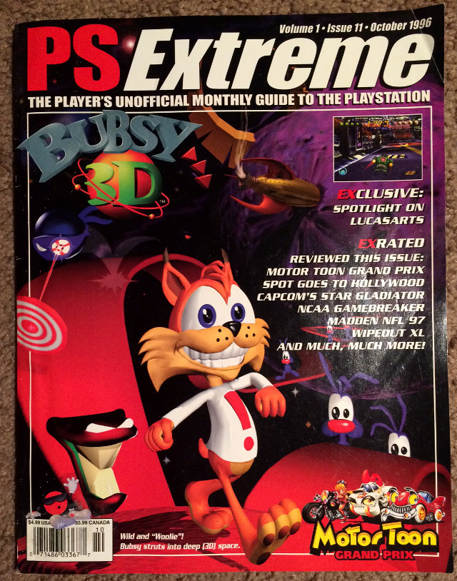 PS Extreme Bubsy 3D