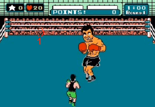 punch-out easter egg